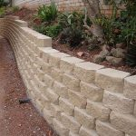 block retaining wall victor harbor